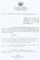 Câmara  aprova contas do ex-prefeito Júlio César